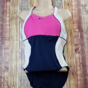 Nike One piece swim suit size 12